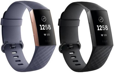 Fitbit Charge 3 klokke